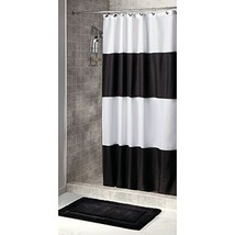iDesign InterDesign Waterproof Mold and Mildew-Resistant Fabric Shower, ... - $22.84