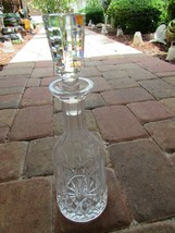 "Waterford LISMORE Decanter Signed Vintage 30586 13 1/2"" - $296.99"