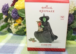 Hallmark Wizard of OZ Witch It's Shoe Time ornament 2014 Magic - $31.27