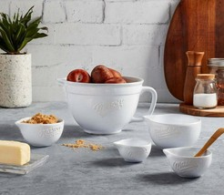 NEW IN BOX - Mason Craft and More, 5-Piece Batter Bowl & Measuring Cup Set - $25.99