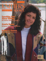 Machine Knitters Source Sept Oct 1995 Magazine Buttons & Closures Color ... - $5.99
