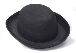 SteamPunk and Cosplay Victorian Black Derby Hat Costume Style, NEW UNWORN - $9.74