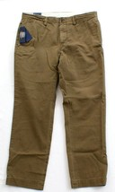 Polo Ralph Lauren Algae Bedford Chino Flat Front Cotton Twill Pants Men's NWT - $74.24
