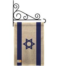 Israel Burlap - Impressions Decorative Metal Fansy Wall Bracket Garden F... - $33.97