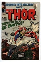 Journey Into Mystery #117 Silver Age Marvel Thor Jack Kirby Fn - $78.18