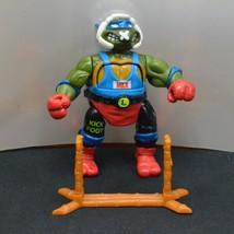 Smash Em Bash Em Kowabung Kickboxin' Leo TMNT Action Figure 1992 Playmates - $15.99