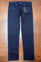 Armani Exchange A X Men's Straight Fit Stretch Cotton Navy Blue Jeans 31R - $62.87