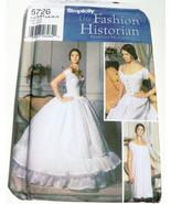 Simplicity Pattern Misses Coset Chemise Petticoat Martha McCain Sz HH 6 ... - $20.04
