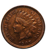 1907 Indian Head Penny / Cent Coin Lot# MZ 3598 - €22,09 EUR