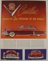 1948 red Cadillac Fleetwood new standard of the world white sidewalls pr... - $9.99