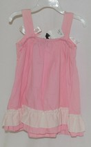 SK Spunky Kids Pink White Ruffle Sun Dress Size 90cm or 2 to 3 Year Old image 2