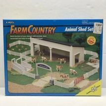 Vintage Ertl Farm Country 46-Piece Animal Shed Set #4232 New - $148.45