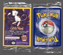 PoKeMoN 2000 Movie RARE PROMO CATCH MEW Single Card Factory SEALED Nint... - $7.91