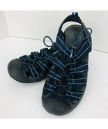 Alpine Design Shoes Navy Blue Sport Hiking Sandals Size 9 Closed Toe - $29.69