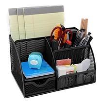 LOHOME® Desk Organizer, Space Saving Mesh Desk Organizer 5 Components Of... - €18,50 EUR