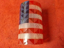 Yankee Candle Patriotic USA Flag July 4th Independence Day RARE  (SM) - $7.69