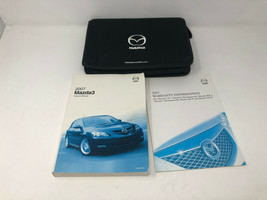2007 Mazda 3 Owners Manual Warranty Guide Handbook with Case OEM Z0A0471 - $35.99