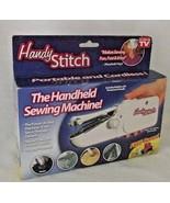 Handy Stitch Handheld Sewing Machine Bobbin Thread Repairs Darn Battery ... - $19.75