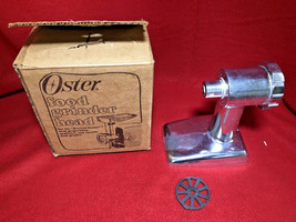 Oster Model No. 954 Food Grinder Head - $28.88