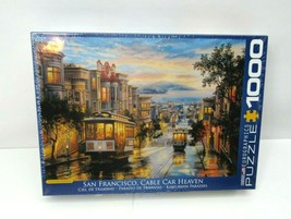 San Francisco Cable Car Heaven 1000 piece Puzzle NEW FACTORY SEALED - Sh... - $24.70