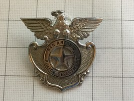 Obsolete San Antonio Texas Police Badge Hat Badge - $75.00