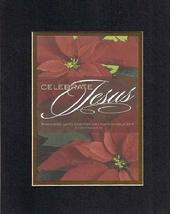 Celebrate Jesus 8 x 10 Inches Biblical/Religious Verses set in Double Be... - $11.14