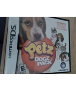 Nintendo DS Petz Dogz Pack - $7.00