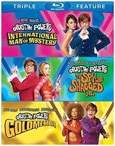Austin Powers Triple Feature Trilogy (Blu-ray) (2012) New