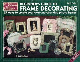 Gracy Frames BEGINNER'S GUIDE to FRAME DECORATING #8615 Plaid 55 Ways - $4.94