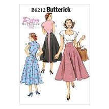 Butterick Patterns 6212 E5 Sizes 14/16/18/20/22 Misses Dress by Butterick Patter - $14.70