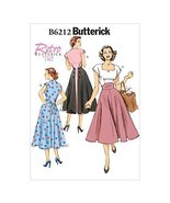 Butterick Patterns 6212 E5 Sizes 14/16/18/20/22 Misses Dress by Butteric... - $14.70