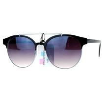 Womens Fashion Sunglasses Round Retro Top Bar Frame UV 400 - $9.95