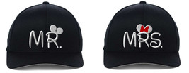 Mr & Mrs, Couple Matching, Embroidered Flexfit Hats - $39.99