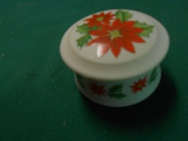 Beautiful Antique China By Lefton Trinket Box.......Free Postage Usa - $12.46