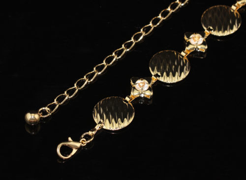Donna Nero Elasticizzato Vita Elasticizzata Cintura fibbia con diamante 60mm Wide 748