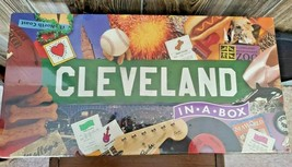 CLEVELAND IN A BOX BOARD GAME - NEW STILL SEALED - $39.95