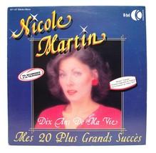 Nicole Martin Dix And de Ma Vie LP Vinyl Album Record K-Tel KF 147 - $7.43
