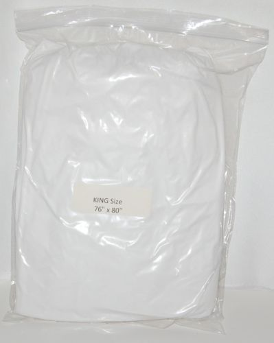 GBS 264254 Waterproof Mattress Protector Size King Color White