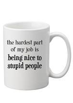 Stupid People 10oz Funny Joke Mug Rude Gift Secret Santa - $8.52