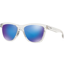 Oakley OO9320-03 Moonlighter Sunglasses Frost Frame Sapphire Iridium Lens - $84.14