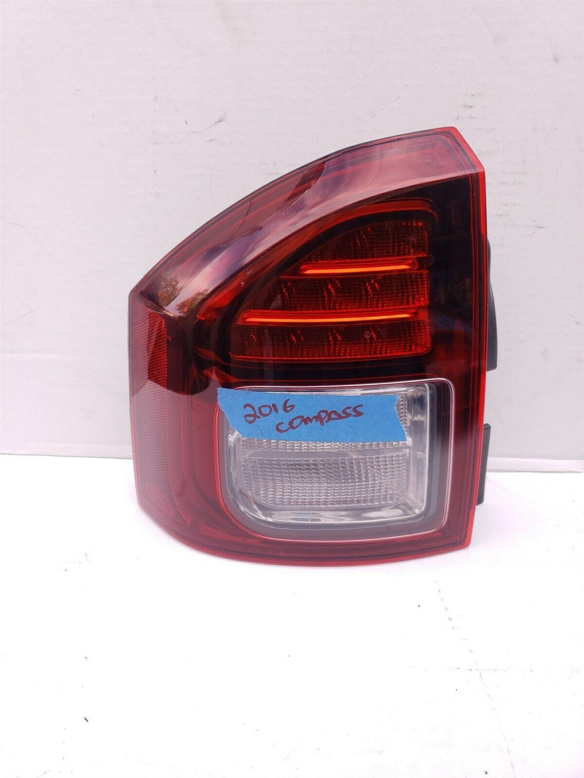 14-16 Jeep Compass LED Taillight Lamp Driver Left LH