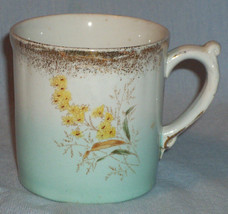 Vintage Victorian Cup Floral Gilt-edged Royal Semi-Porcelain - $4.74