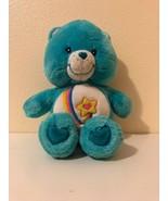"Plush Stuffed Care Bears Thanks-A-Lot Bear Talks 12"" Play Along 2004 - $16.24"