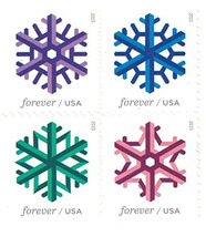 20 Forever Stamps Snowflake Original USPS First Class Postage Christmas ... - $86.85