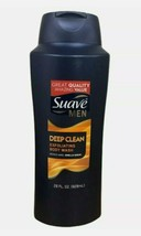 Suave Men Deep Clean Exfoliating Body Wash Large Size 28 oz. Sandalwood ... - $24.70