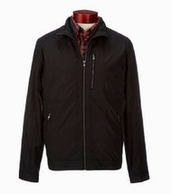 New Michael Kors Men Edmore Poly Bonded 3-In-1 Coat Jacket Black Size L - $123.16
