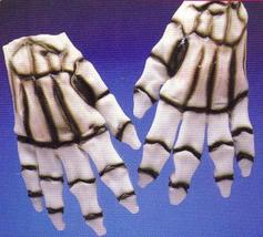 VINYL ADULT SKELETON HANDS - $9.00