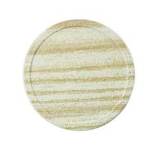 10 Pieces Of Creative Light Yellow Wood Grain Waterproof Insulation Pad/Coaster - $26.17