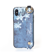 Vintage Flower Pattern Strap Ring Grip Stand Protective Case For iPhone ... - $15.99