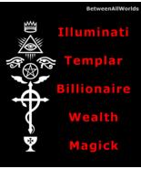 Quantum Illuminati Templar Billionaire Wealth Spell BetweenAllWorlds Ritual - $139.22